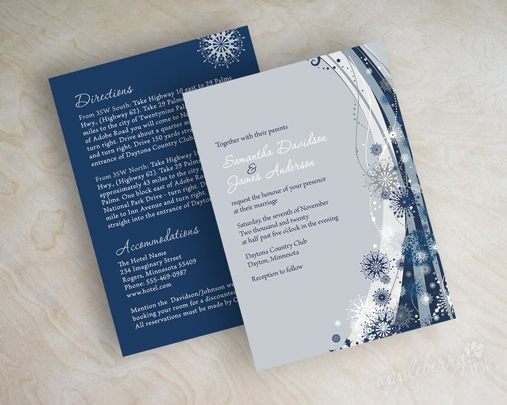 Navy Blue And Silver Wedding Invitations: Pinterest: Discover And Save Creative Ideas