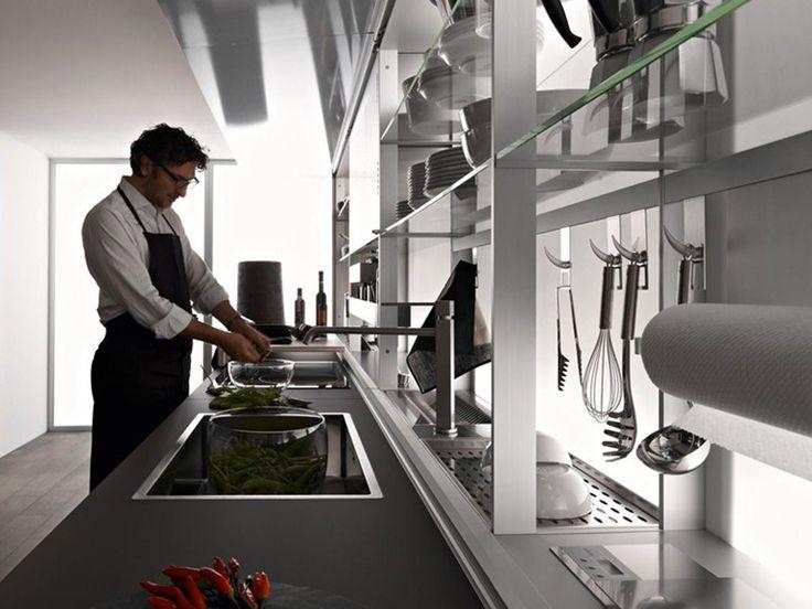Cucina Componibile In Olmo ARTEMATICA OLMO TATTILE   VALCUCINE