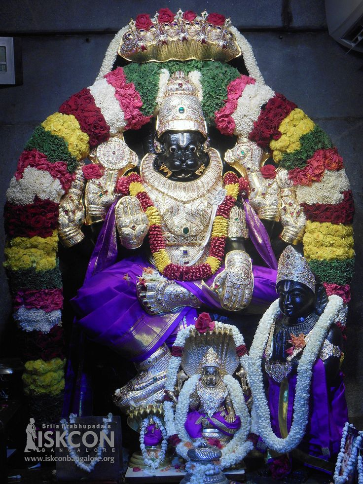 Sri Narasimha Jayanti — Appearance day of Lord Narasimhadeva. Do join us in the celebrations today (May 9, 2017) starting at 6:00 p.m.  Click Here to Watch Live from 6:00 P.M Onwards -http://bit.ly/2oAlaJK