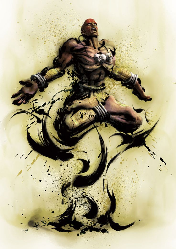 Dhalsim - Pictures & Characters Art - Street Fighter IV