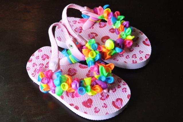 17 best ideas about balloon flip flops on pinterest flip for Flip flops for crafts