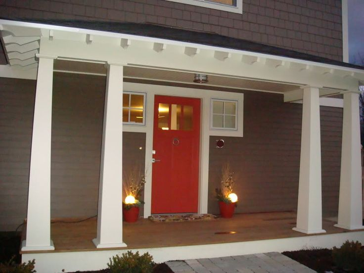 Red Front Door Brown House 178 best fabulous front door colors images on pinterest | front