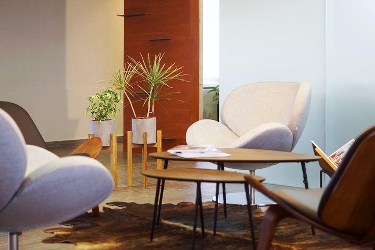 Oficinas ER | Dionne Arquitectos | #office #center #furniture #lighting #detail #coffeetable #interior #design #planter
