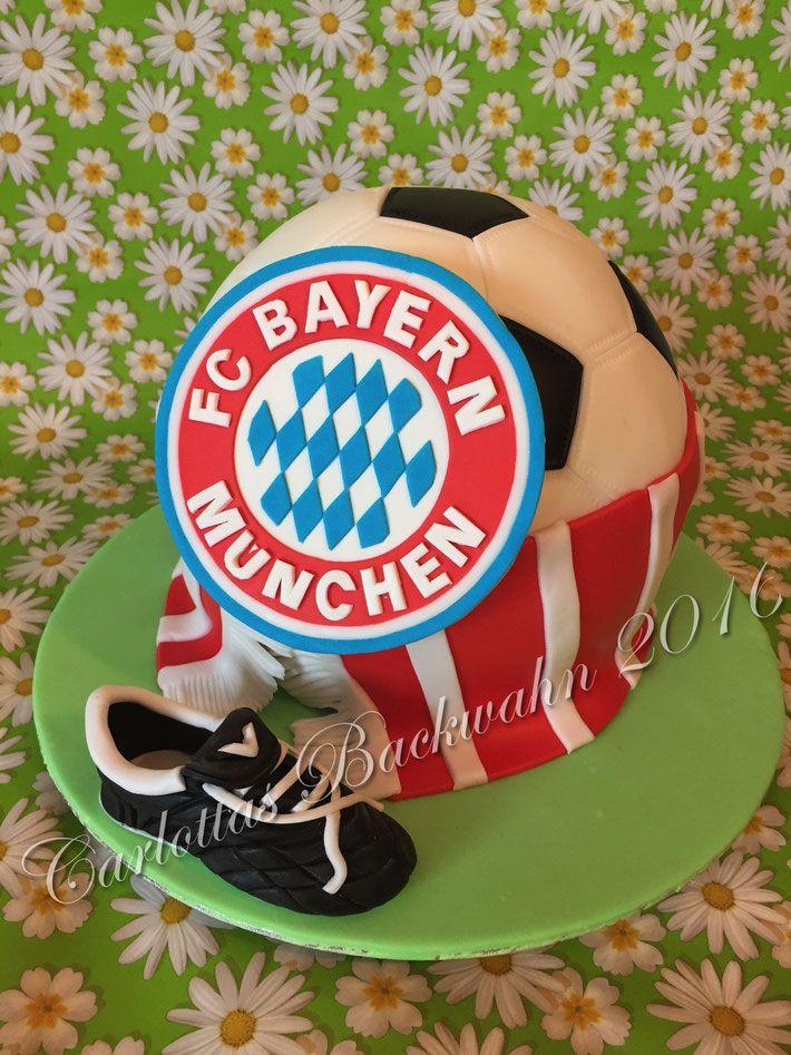 noch eine FC Bayern Torte - Carlottas Backwahn
