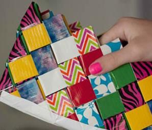 Duct Tape DIY - Wallets, Wristlets & More