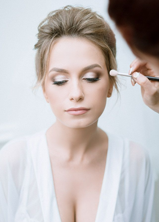 Изящный макияж невесты