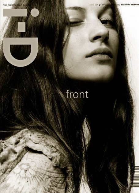 Favorite photo of Gisele Bundchen Cover on i-D