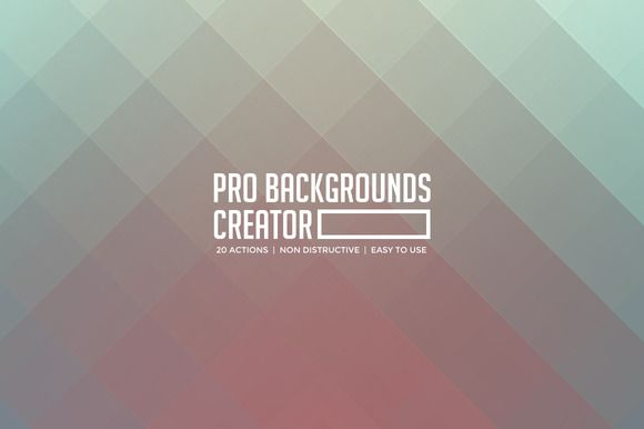 Pro Background Creator by Empeeror on Creative Market