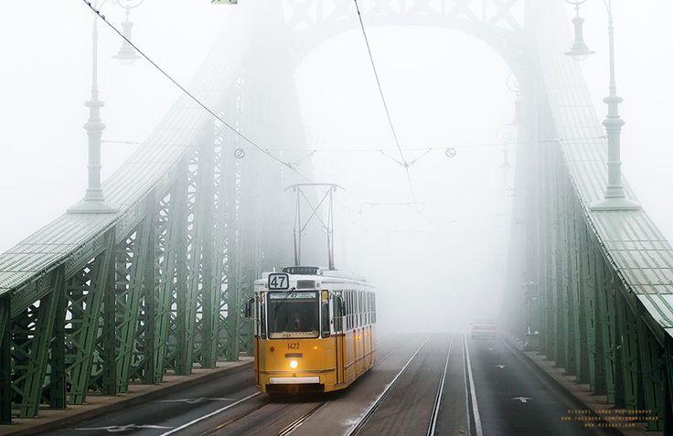 Ködös reggel - Budapest