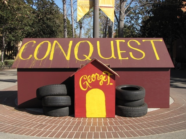 George Tirebiter's Dog House for Troy Week (the week before the ucla game).