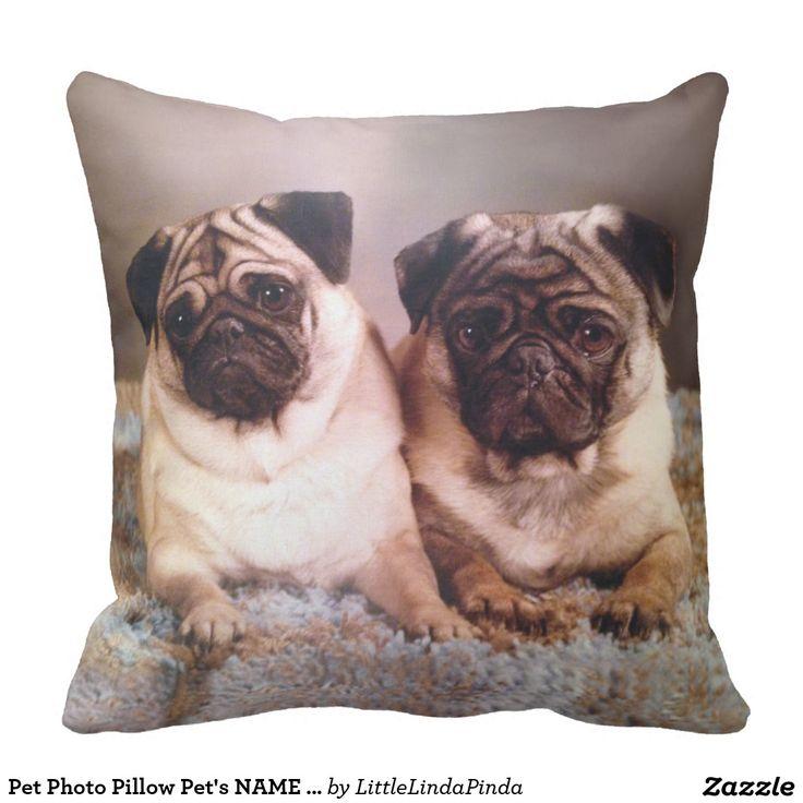 Pet Photo Pillow Pet's NAME or Unconditional Love. Inspiration to create your product. The photograph must have good resolution. Inspiración para crear tu producto. La fotografía debe tener buena resolución. #cojín #pillows