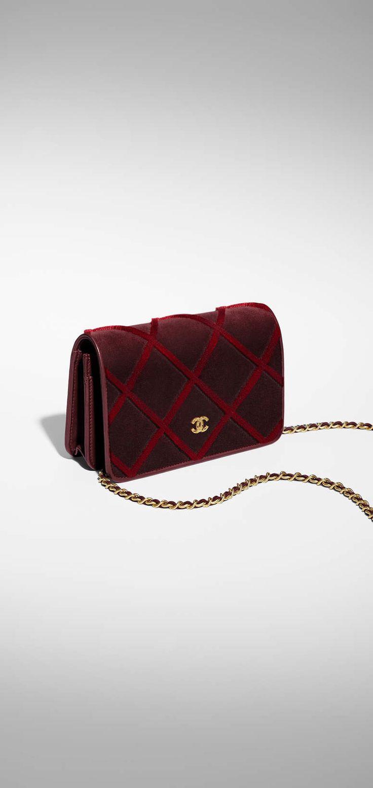 샤넬 공식 웹사이트에서 감상하는  지갑  컬렉션