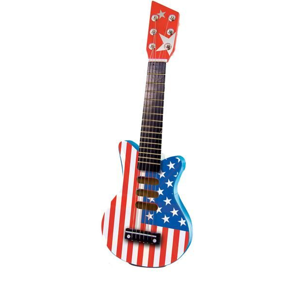 Vilac rock guitar, American Flag