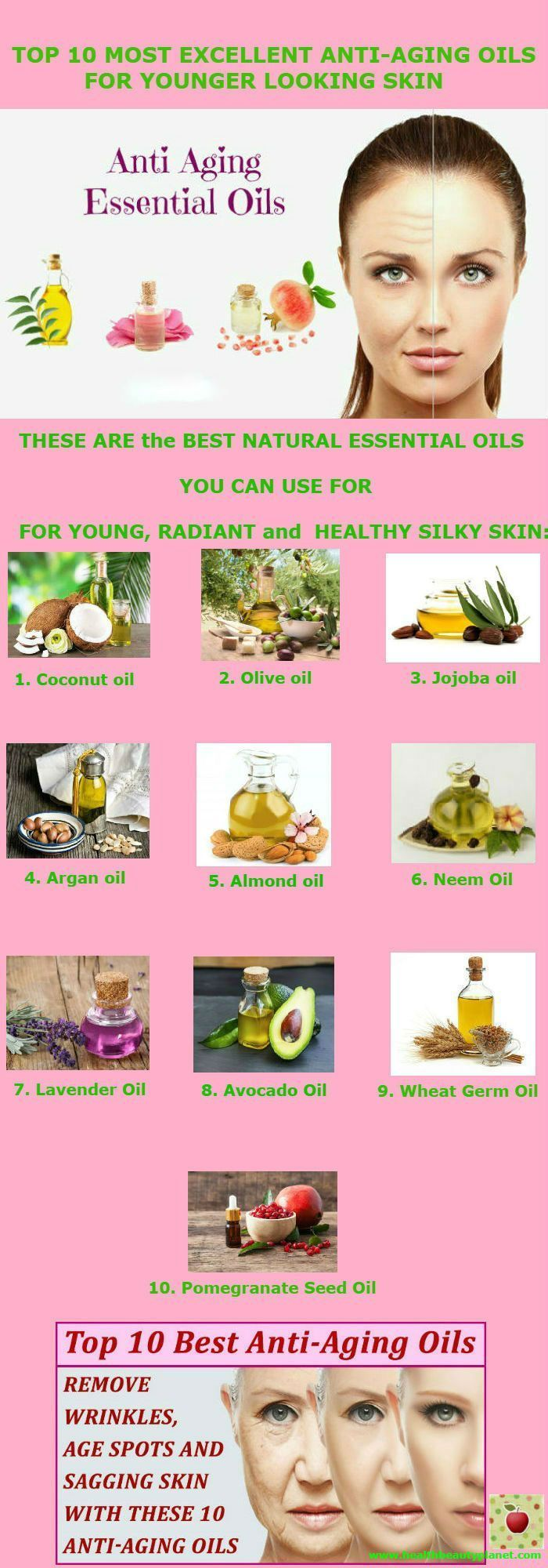 Top 10 Most Excellent Anti-Aging Oils for Younger Looking Skin