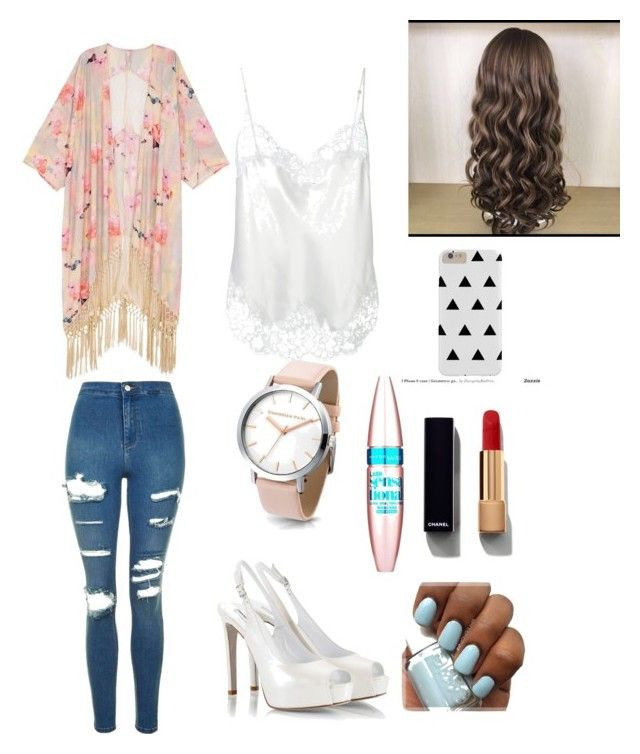 """""""❤️😘"""" by juliette-soucy on Polyvore featuring mode, Melissa McCarthy Seven7, Givenchy, Topshop, Fratelli Karida, Maybelline, Chanel et plus size clothing"""