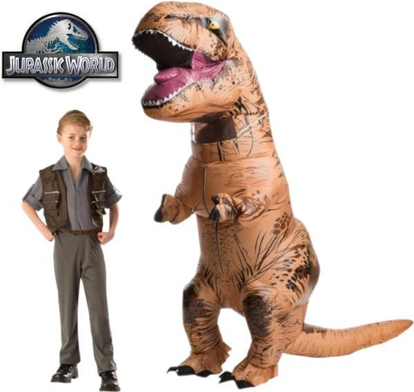 Father-Son Costume Ideas - #JurassicWorld #Halloween #costumes