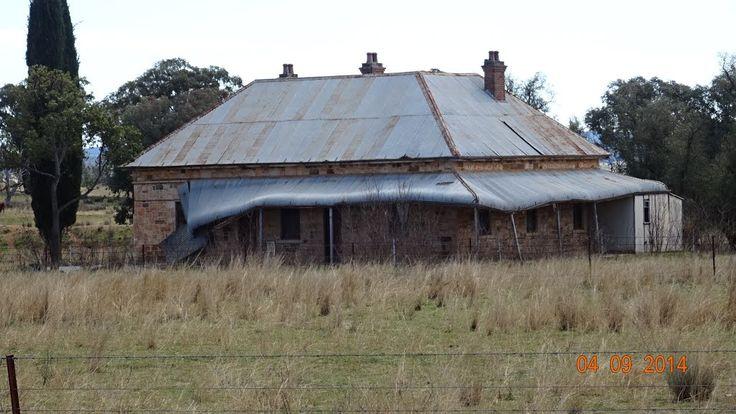 Golden Highway - An Old Stone House - near Duneedoo, NSW