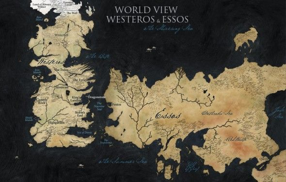 The full world of Game of Thrones is actually quite a bit bigger than we've seen in the series so far.