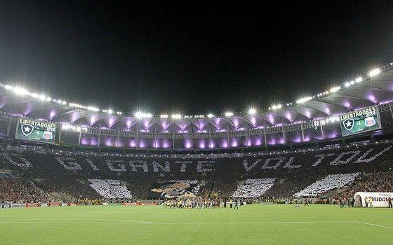 O Maracanã em 2013. O Botafogo tomou dinheiro emprestado com a Odebrecht, mas nunca devolveu (Foto: Vitor Silva / SSPress)