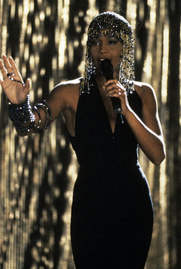 "Whitney Houston in ""Bodyguard"""