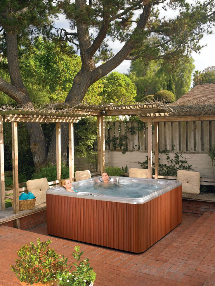 Complete Your Outdoor Yard Or Patio Design By Adding A #HotSpringSpas 6  Person Tempo Hot