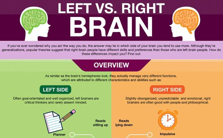 the left brain vs the right brain essay Jim i'm really enjoying this, cassandra i think i found a typo check slide #15 see my comment within the parenthesis while we have a natural tendency towards one way of thinking, the two sides of our brain work together in our everyday lives.