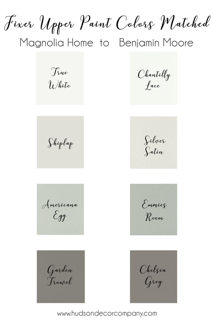 Magnolia Home Paint Colors Just For You