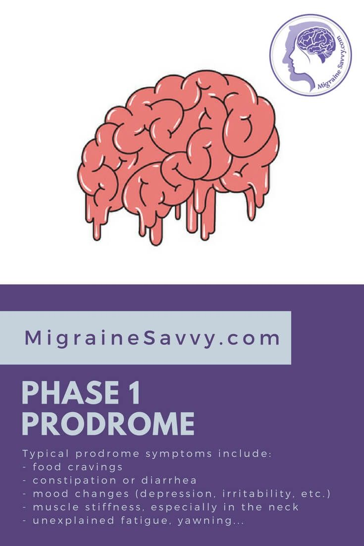 The migraine pain phase is the most familiar to people without complex migraine disease. Phase 1 is the prodrome. You must know about this phase to abort an attack... more @migrainesavvy