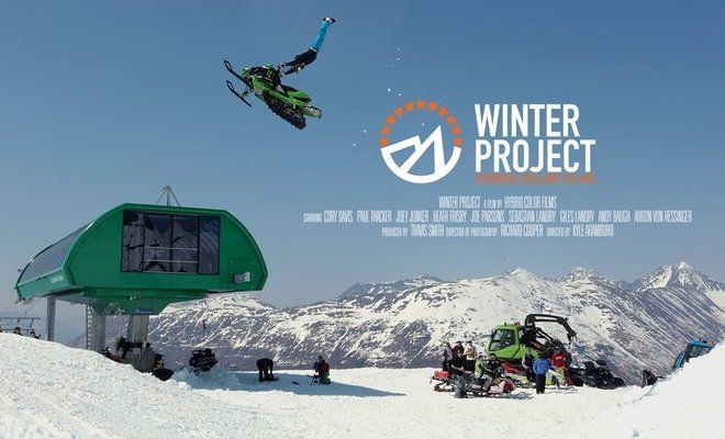 The Winter Project Is A True Story Documentary About Backcountry Snowmobiling In Alaska – Featuring World Class Athletes, And A Team Of Award Winning Filmmakers!