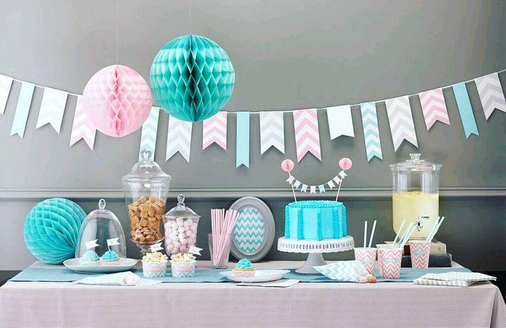 Du finner serien i nettbutikken #pynt #serie #dekorasjon #inspirasjon #baby #boy #gutt #girl #jente #pink #blue #pinkandblue #dinbabyshower #detlilleekstra #nettbutikk #babyshower #dåp #navnefest www.dinbabyshower.no