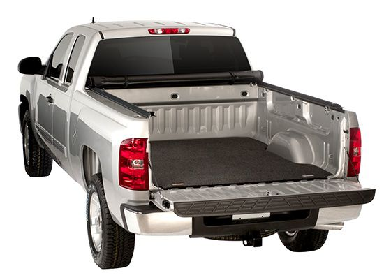 A Truck Bed Mat is very easy on the knees and makes it much easier to move around in the bed. It helps cushion your body when you're in the bed, and it also cushions whatever cargo you carry. -
