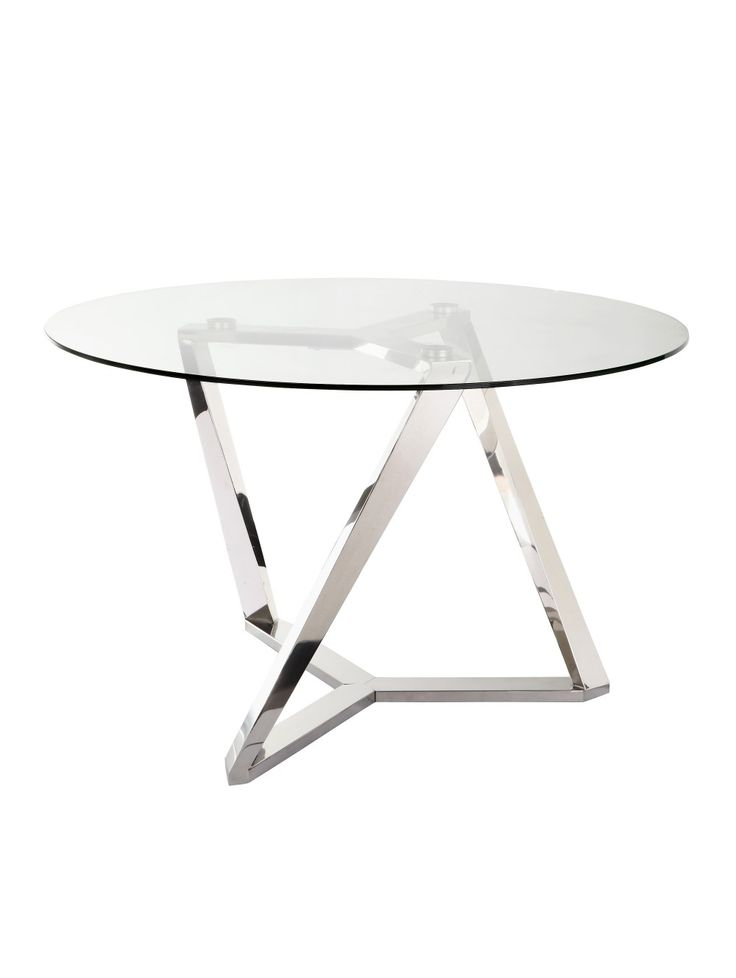 Arsenio Dining Table, Glass