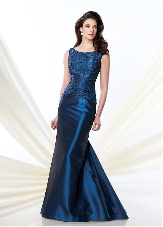 Buy discount Elegant Taffeta Sheath Bateau Neckline Full-length Mother of the Bride Dress at Dressilyme.com