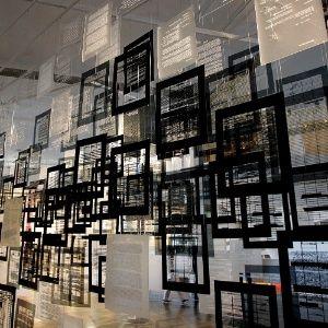 6.set.2014 - Abertura da 31ª Bienal de Arte de São Paulo traz obra  ?Histórias de aprendizagem?, da chinela Voluspa Jarpa