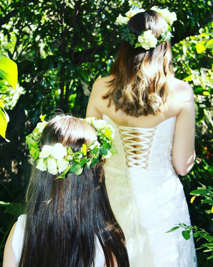 Flower Crowns by Fancy Flowers created by Felicity