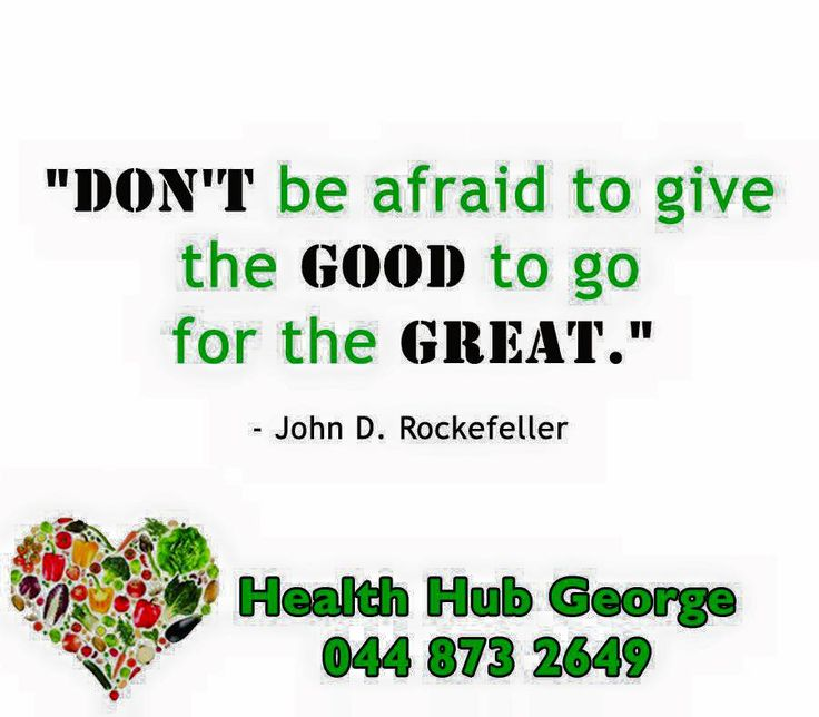 """Don't be afraid to give the good to go for the great"" - John D Rockefeller #SundayMotivations"