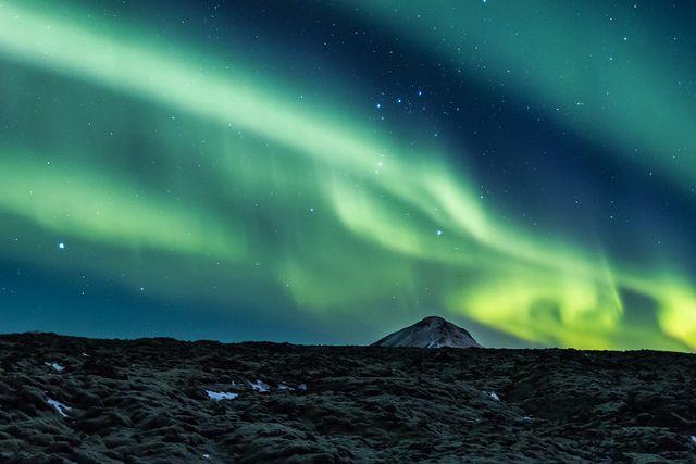 Aurora Borealis - Norðurljós by Kristján Kristinsson, via Flickr
