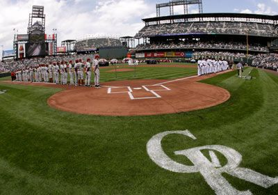 Coors Field: Colorado Rockies...OPENING DAY!! Nothing like it :)