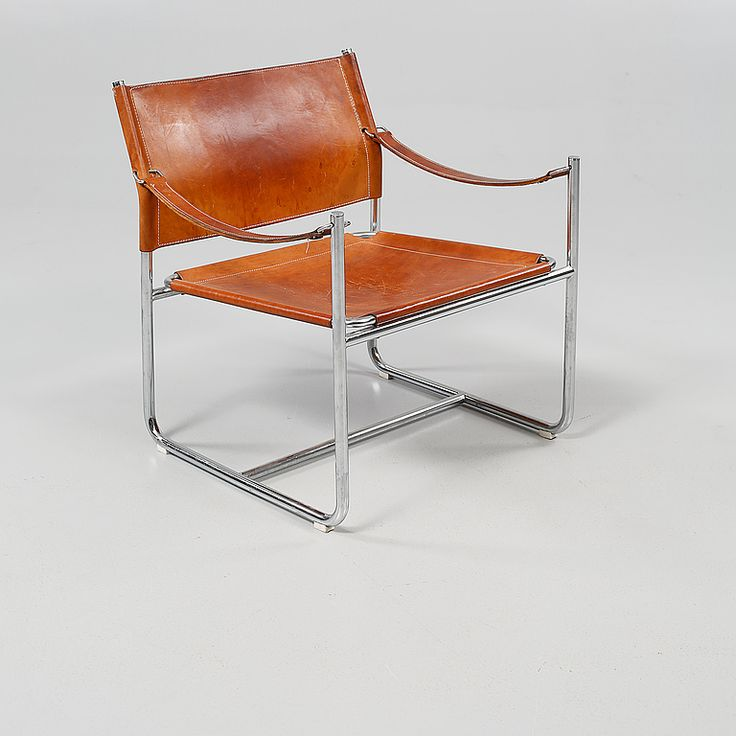 Karin Mobring; 'Admiral' Lounge Chair for IKEA, c1970.