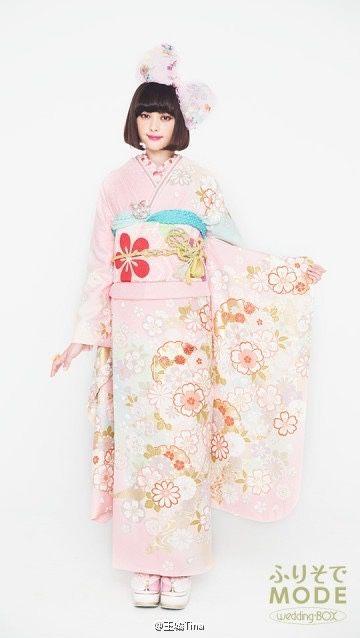 honey-mi-honey:  Tina Tamashiro X FURISODE MODE