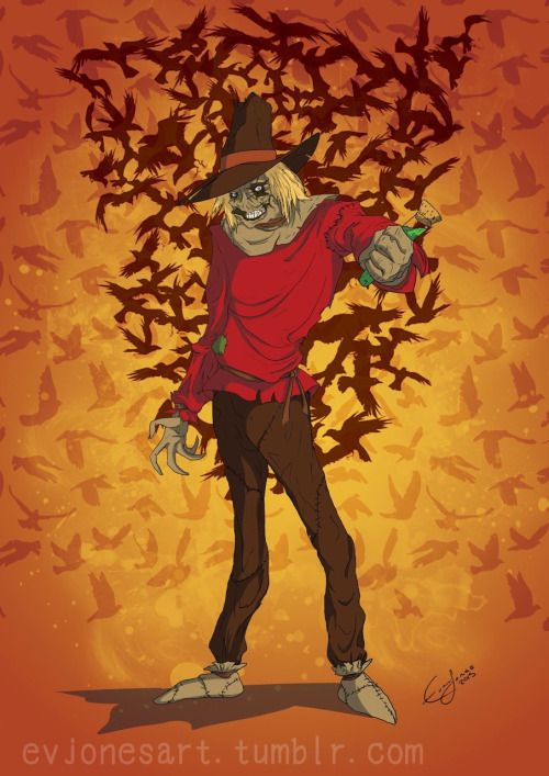 1000 ideas about scarecrow from batman on pinterest for Animated scarecrow decoration