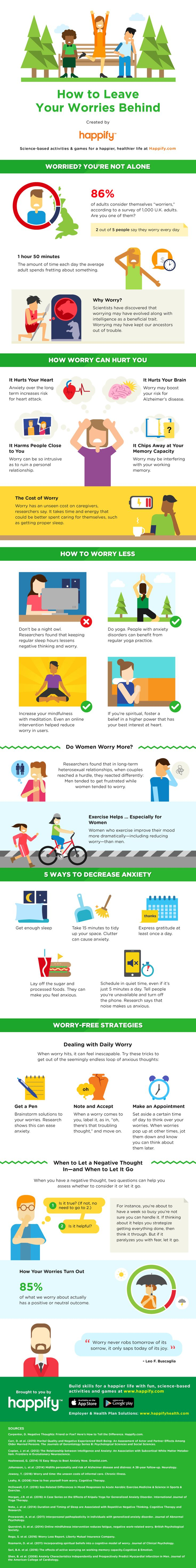 You worry too much  here are 14 ways to worry less