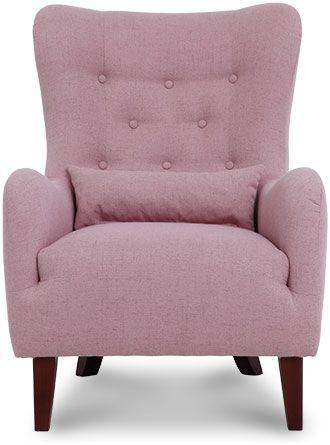Klasyczny, wygodny fotel tapicerowany, wygodny, drewniane nózki, producent