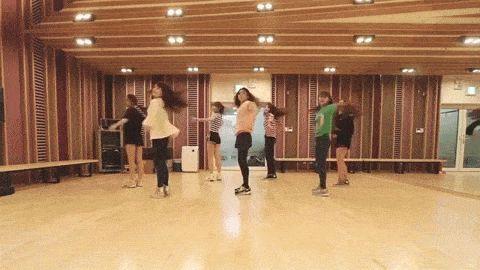 Lovelyz Candy Jelly Love Dance Practice【KPOP Korean POP Music K-POP 韓國流行音樂】