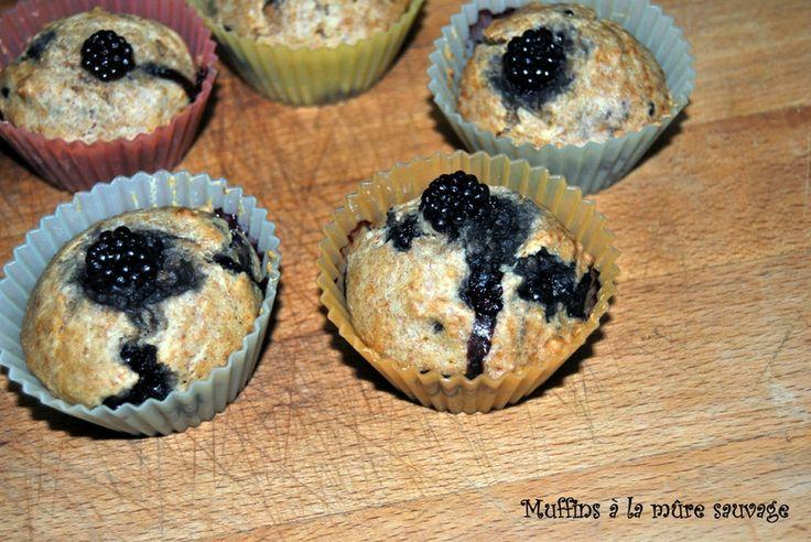 Muffins à la mûre sauvage