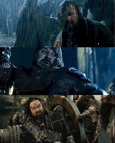 """And I annoyed everyone each time by insisting on pointing it out. """"Peter Jackson! That was Peter Jackson. That guy there. Peter..."""" """"ಠ_ಠ"""" """"...Jackson."""""""