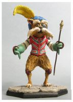 labyrinth Sir Didymus sculpture colors2 by yotaro-sculpts