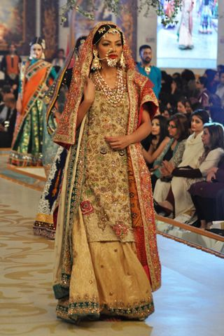 #pantenebridalcoutureweek2013 #bridalcouture Complete Collection - Photo 25: 2013 PBCW Ali Xeeshan Collection,