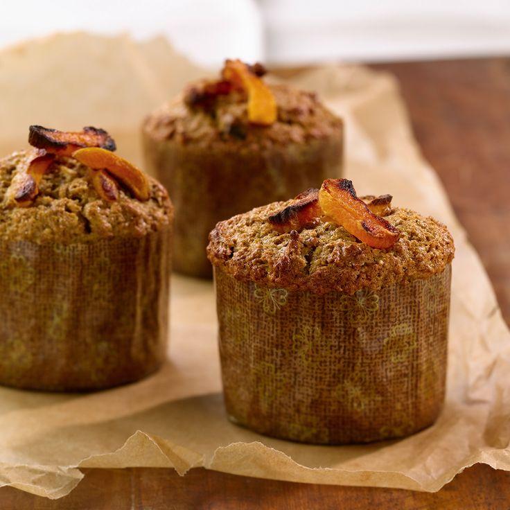 Muffins aux dattes et aux abricots