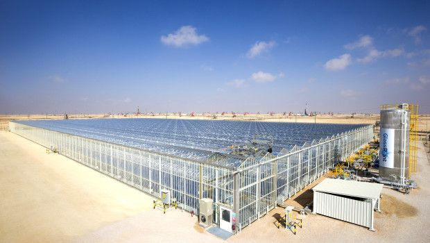 Solar-based enhanced oil recovery by Glasspoint Inc.